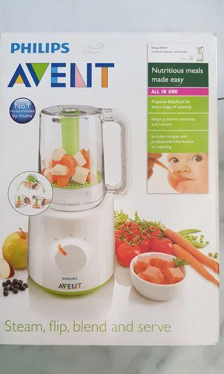 Philip Avent baby steam & brand food processor