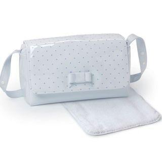Branded Baby Bag Pasito a Pasito Changing Bag (Embroidered Blue Polka Dot)#Letgo50
