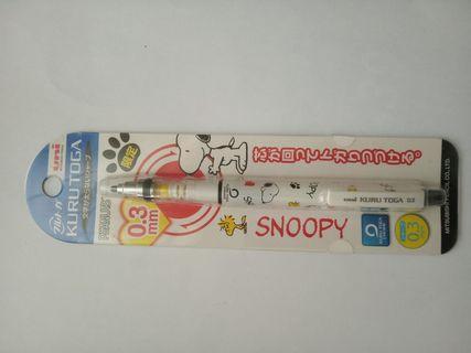 Snoopy史努比kuru toga旋轉自動鉛筆0.3