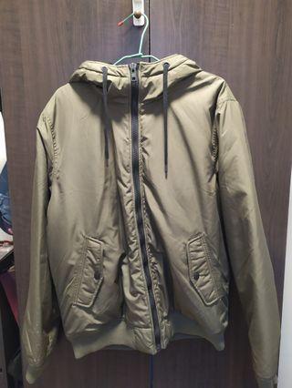 H&M coats 軍綠色外套 DB SUPPLY NO.1