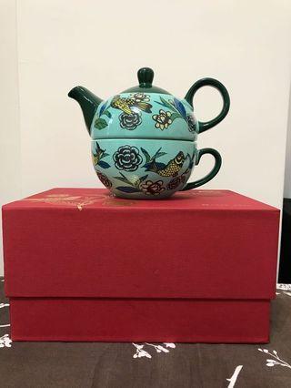 全新 生活器皿 陶瓷子母茶壺組