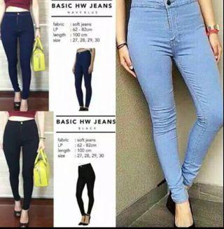 Highweist Punny Jeans