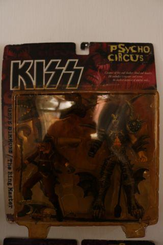 Set of kiss mcfarlane