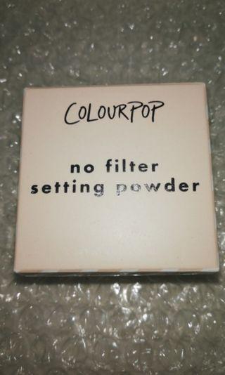 Colourpop No Filter Setting Powder Translucent