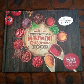Award Cookbook The Essential Ingredient In Delicious Food