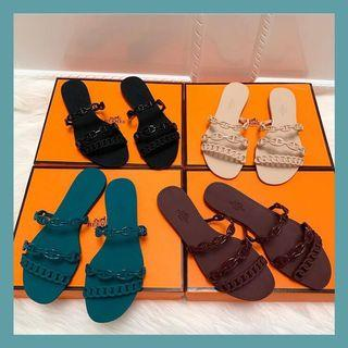 Herme5 Jelly Sandals