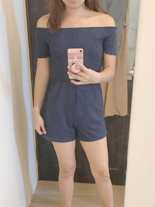 PULL&BEAR 平口連身褲