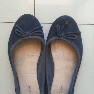 Flatshoes new look navy