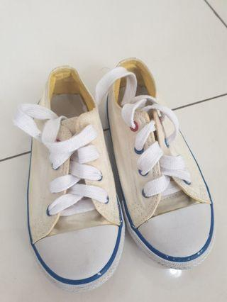 White Shoes  Mothercare (ky converse) size UK9