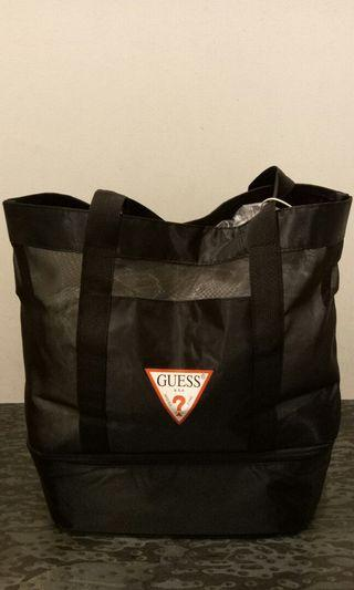 Guess mesh lunch tote