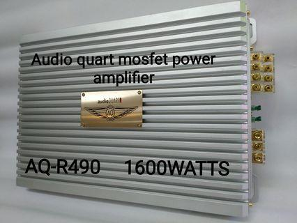 Audio quart mosfet power Amplifier