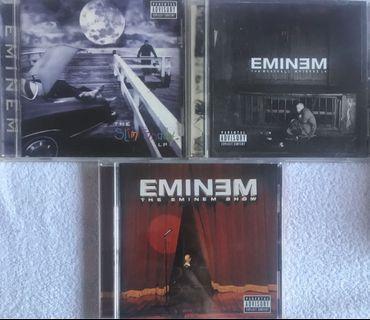 3 x Eminem CDs 阿姆