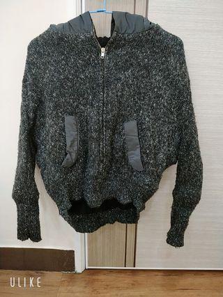 LULUS內裡鋪棉厚外套(短版)防風、保暖