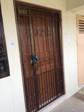 🎉PROMO👉Wrought Iron Main Gate @97108558