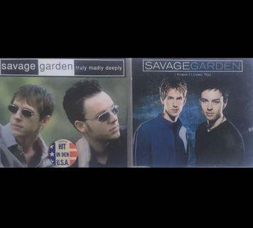 2 x Savage Garden CD Singles 野人花園