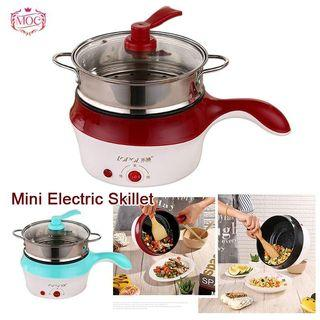 Lopol Electric NonStick Ceramic/Marble Frying Pan Rice Multi Mini Cooker