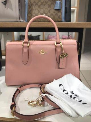 Coach x Selena Bond Bag in Peony/Gold(o)