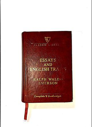 Essays and English Traits - Ralph Waldo Emerson [RM10]