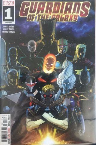 (英文) Guardians of the Galaxy (2019) Issue #1