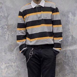 Tommy Hilfiger Polo Long Sleeve Stripe