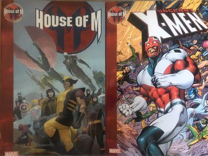 (英文) House of M Trade Paperback (+ Uncanny X-Men tie-in)