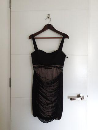 Black Dinner Dress #1010