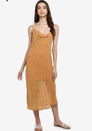 Cotton On Woven Roxy Midi Slip dress