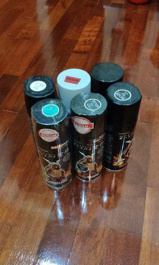 Kurobushi Spray Paint + asrt. Paint