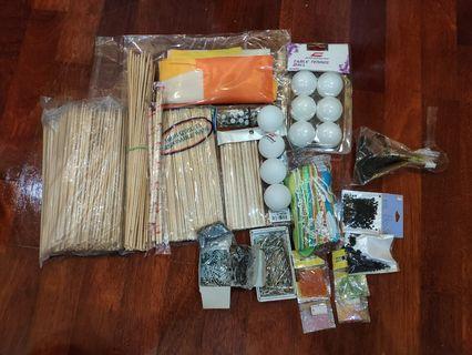 Assorted Crafting Tools & Materials