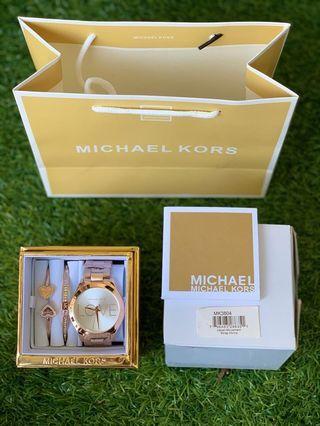 *MICHAEL KORS WATCH MK3804 SET*