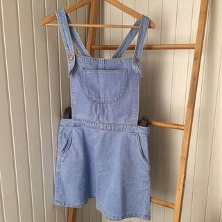 Zara Denim Overall