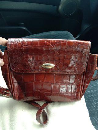 MaxMara croc handbag