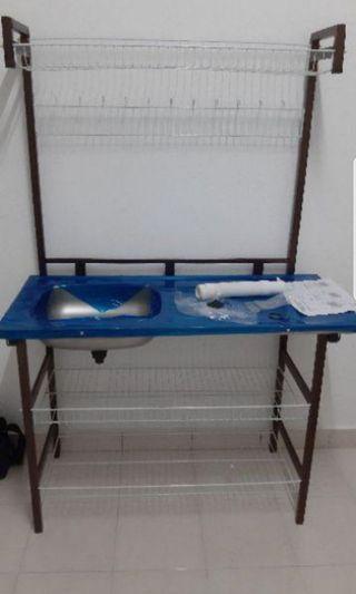 Rak.singki + rak pinggan mangkuk