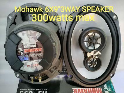Mohawk ms 6x9   3way speaker