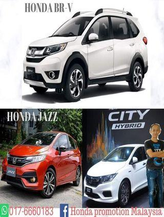 Honda CITY/HRV/BRV/JAZZ/CIVIC