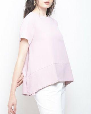 this is april sofia top pink