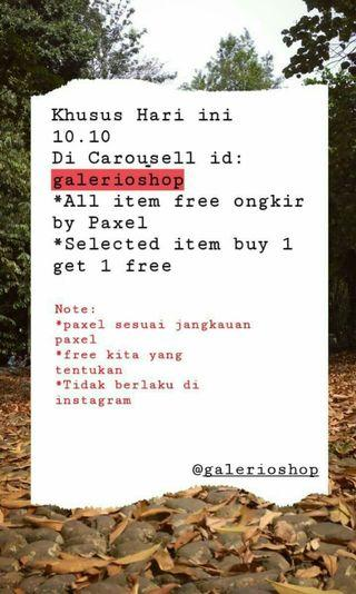 Promo 10.10 for today