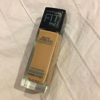 Maybelline Fit Me Matte Poreless Foundation Shade 228