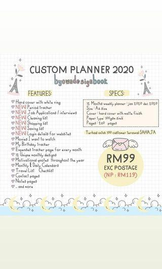 Custom Made Planner