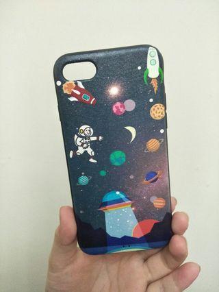 iPhone8外星宇宙月球手機殼