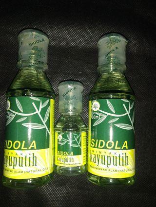 sepaket isi 3 botol (2 botol isi 60ml dan 1 botol isi 15ml)