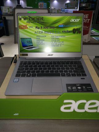 Cicilan laptop acer swift 3 air