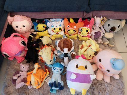 Pokemon and other Stuff Toy