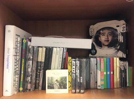10.10 SALES! RM10 OFF ALL ALBUMS | EXO ALBUMS, PHOTOBOOKS, DVDS