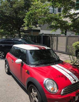 Mini Cooper 1.6A Singapore