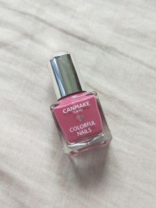 CANMAKE【Colorful Nails】晶燦指甲油 94復古粉