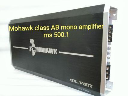 Mohawk class AB mono amplifier
