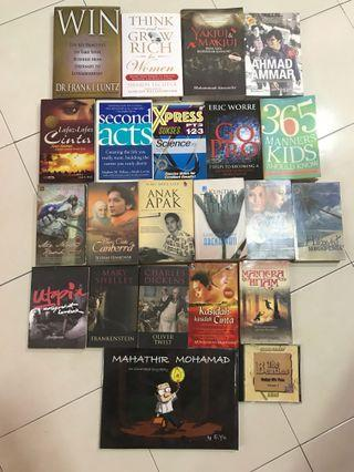 Books & Cd  (2 items for rm10) #1010