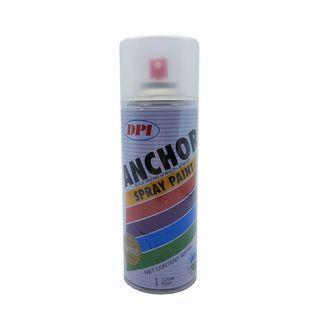 2 Bottle Anchor Colour Spray 400ML - Clear & Black #1010