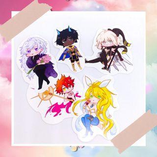 Fate Grand Order FGO sticker set fanmade
